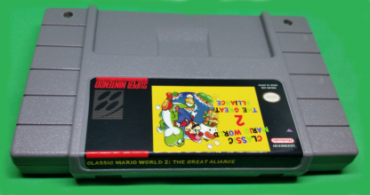 Classic Mario World 2 - The Great Alliance Label