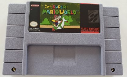 A Very Super Mario World - Front Image