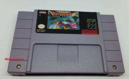 Dragon Quest III Label
