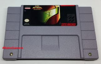 Super Metroid Redsign Front Image